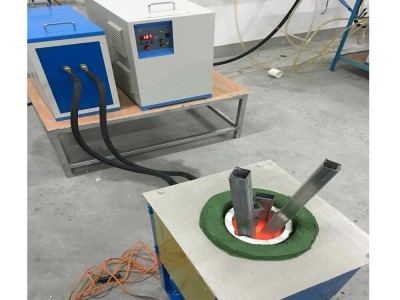 110KW Medium Frequency Induction Metal Melting Furnace