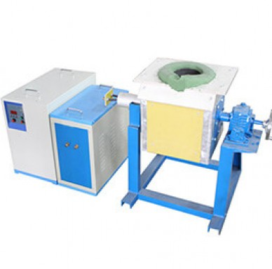 70KW Medium Frequency Induction Melting Equipment
