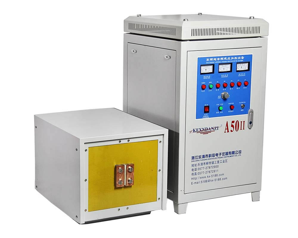 50KW High Frequency Induction Heating Furnace