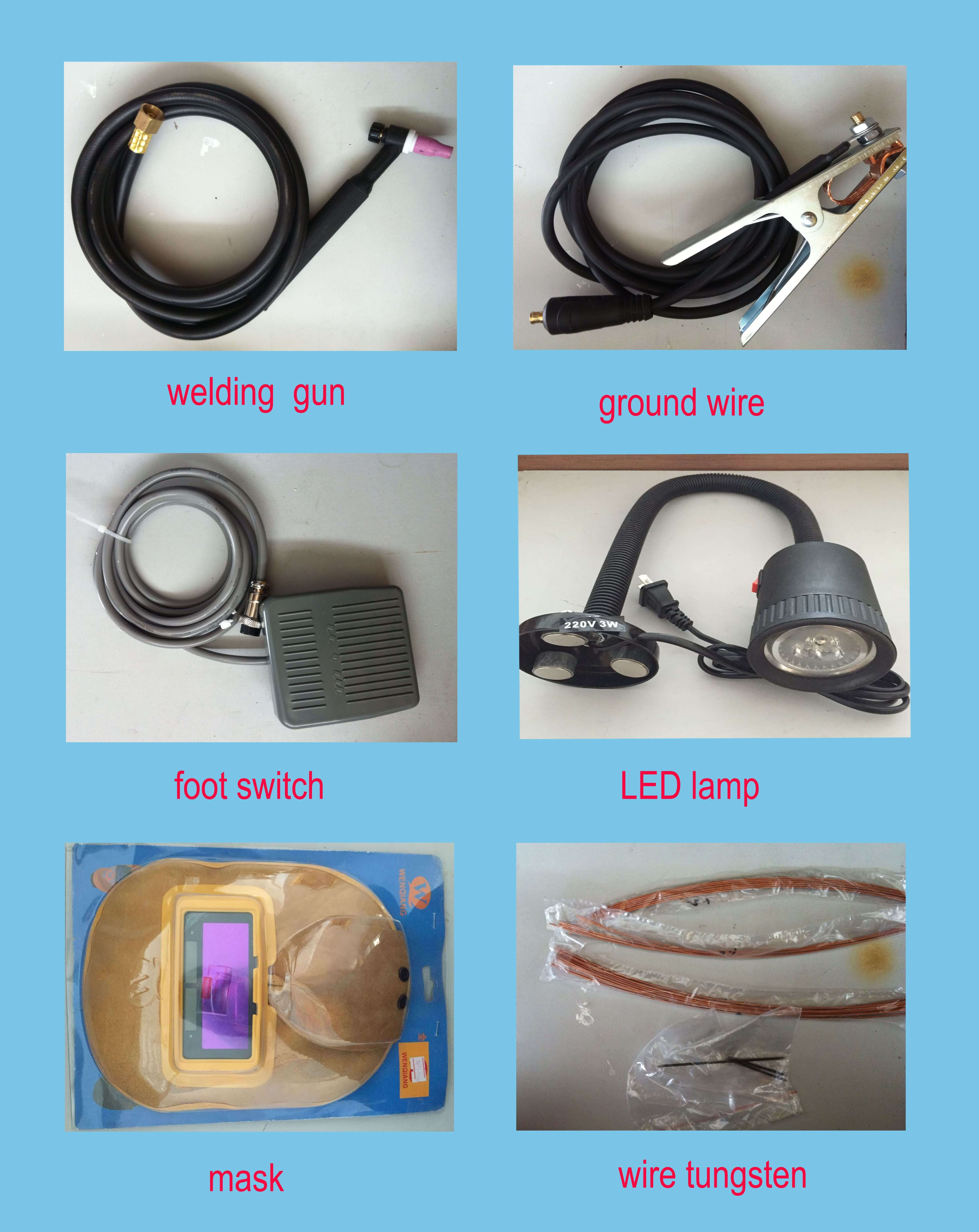 Cold Welding Machine/Metal Mold Repairing Machine Accessories