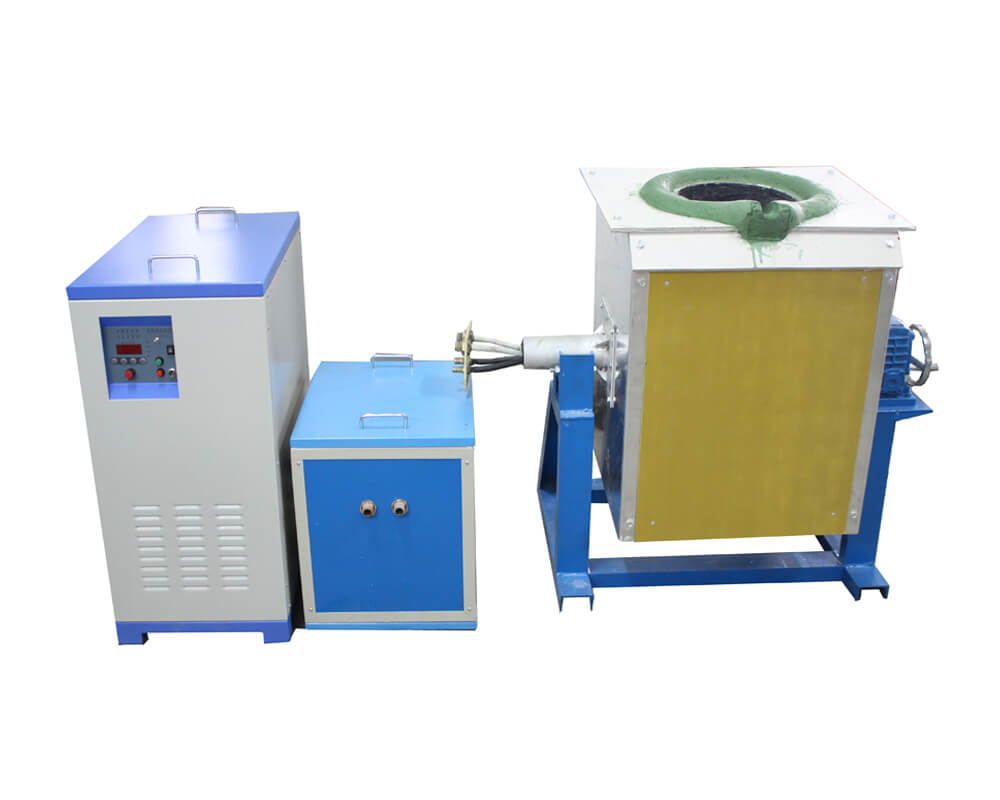 160KW Medium Frequency Induction Metal Melting Equipment