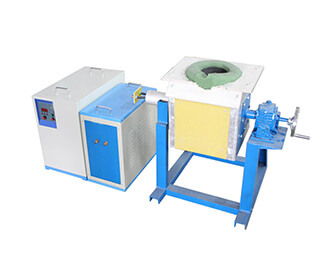 Tilting Metal Smelting Furnace